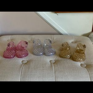 Other - Lot of infant girl jelly sandals